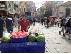 Taksim'i İşbortacılar Bastı