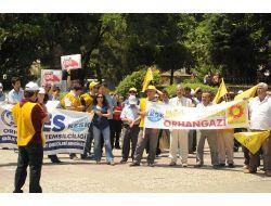 Memur Yasa Tasarısına Protesto