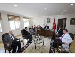 Taş Mağazalar Esnafı Derneği'nden Aziziye Belediye Başkanı Cengiz'e Ziyaret