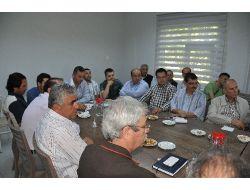 Kırıkkalede Üniversite İle Sanayiler Osb'nin Gelişmesi İçin Toplandı