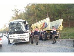 Orhanelinde Trafik Kazası: 7 Yaralı