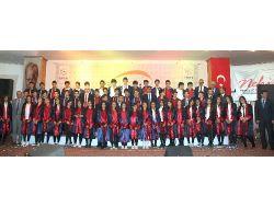 Yozgat Özel Ergin Koleji 15. Dönem Mezunlarını Verdi