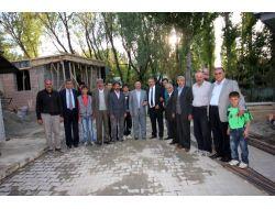 Başkan Arslan, 14. Okuma Evinin İnşaatını İnceledi