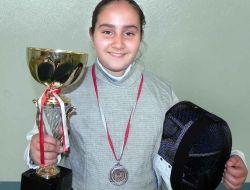Gaziantepli Öğrenci Eskrimde Türkiye İkincisi Oldu