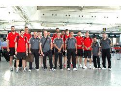 A Milli Basketbol Takımı İtalyaya Gitti