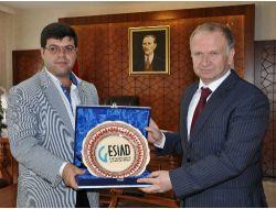 Gesiad'dan Nevşehirin Yeni Valisi'ne Hoşgeldin Ziyareti