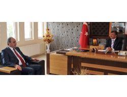 Niğde Üniversitesi Rektörü Görür, Başkan Akdoğanı Ziyaret Etti
