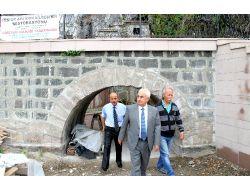 Giresunda Tarihi Kaya Kilise Gün Yüzüne Çıkarıldı