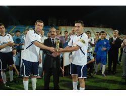 İhsan Eroğul Futbol Turnuvasının Şampiyonu Mersin Adliye Oldu