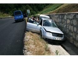 Taraklıda Trafik Kazası: 1 Yaralı
