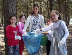 Miliç Piknik Alanının Çöp Haline Gelmesine Öğrenciler Duyarsız Kalmadı