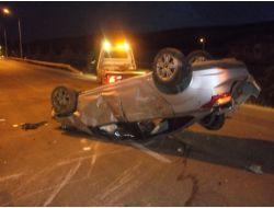 Keçiborluda Trafik Kazası: 1 Ağır Yaralı