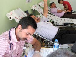 Kumlucada Kan Bağışı Kampanyası Düzenlendi