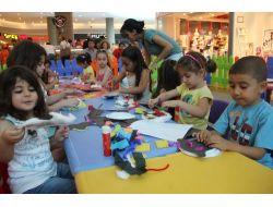 Çocuklar Optimum'da Eğlenerek Öğreniyor