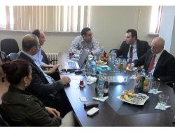Gürcistanın Trabzon Başkonsolosu Kalandadze, Hopaportu Ziyaret Ettı