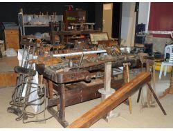Dedelerinden Kalan Marangoz Malzemelerini Müzeye Bağışladılar