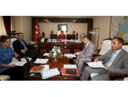 Osb Yönetim Kurulu, Vali Arslan Başkanlığında Toplandı