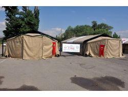 Umkeden Mobil Sahra Hastanesi Tatbikatı