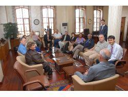 Başkan Yılmaz Abd'li Konuklarını Ağırladı