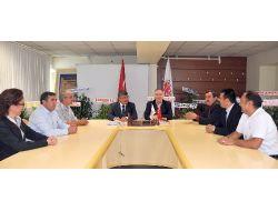 Niğde Belediye Başkanı Akdoğan'dan Nitso'ya Ziyaret