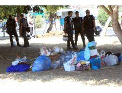 Mersinde Eylemcilerin Çadırları Kaldırıldı