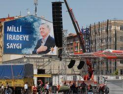Kayseri Meydanı Başbakan İçin Hazırlanıyor