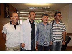 Trabzonspor'da Teknik Heyet Kontrolden Geçti