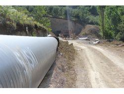 Sakaryaya Sapancadan Su Getirecek Çelik Boru Hattı Büyük Oranda Bitti