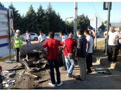 Kırmızı Işık İhlali Kazaya Neden Oldu: Biri Ağır 15 Yaralı