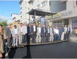 Belediyenin Asfalt Çalışması, Ak Parti Teşkilatını Memnun Etti
