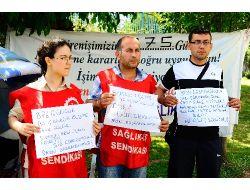 İşten Atılan İşçiler, Başbakan Erdoğan'dan Yardım Bekliyor