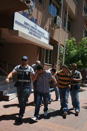 İzmirdeki Suç Örgütü Operasyonu