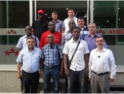 Togolu İşadamları Karaman'da...