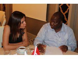 Mozambikli İşadamları Agidi Ziyaret Etti