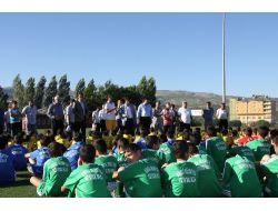 Bingölde Yaz Futbol Okulu Öğrencileri Çalışmalara Başladı