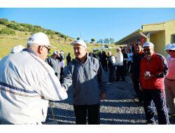 Ali Dağı'nda Yürüyüş Yapanlara Dinlenme Evi