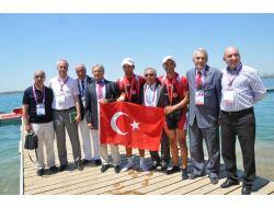 Akdeniz Oyunlarında Kürekte 2 Madalya