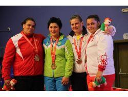 Judoda Belkıs Zehra Kaya İle Feyyaz Yazıcı Bronz Madalya Kazandı