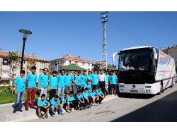 Erdemli Gençlik Kulübü Kampa Gitti