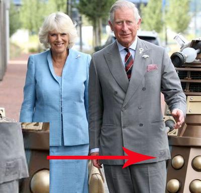 Prens Charles yamalı ceket giydi