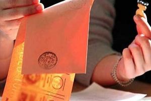 Seçim yasakları Resmi Gazetede..