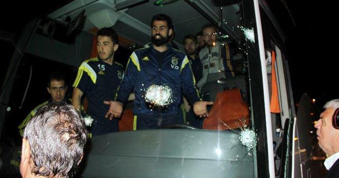 Fenerbahçe otobüsüne yönelik silahlı saldırı