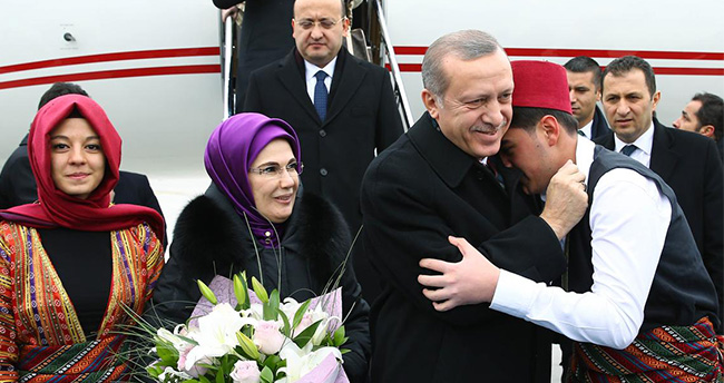 Erdoğan, Konya'ya geldi