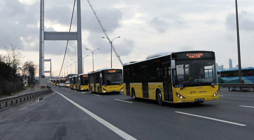 İETT'ye bin otobüs alınacak