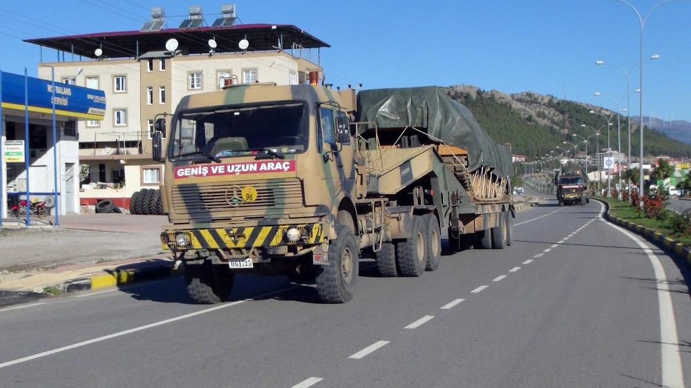Sınıra zırhlı araçlar sevk edildi!