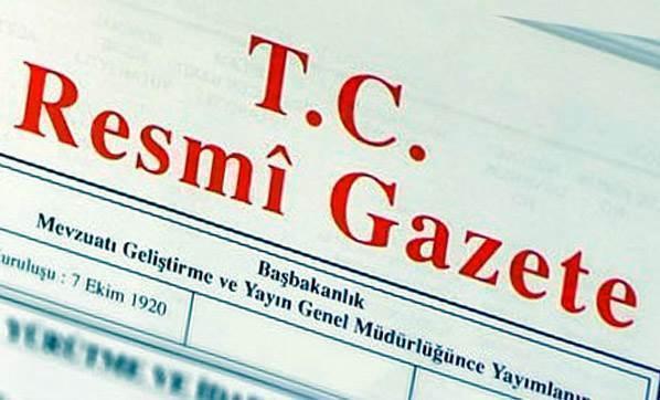 Bakanlar Kurulu kararları Resmi Gazete'de..
