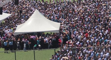 Şehit Eryeleri 13 bin hemşehresi uğurladı