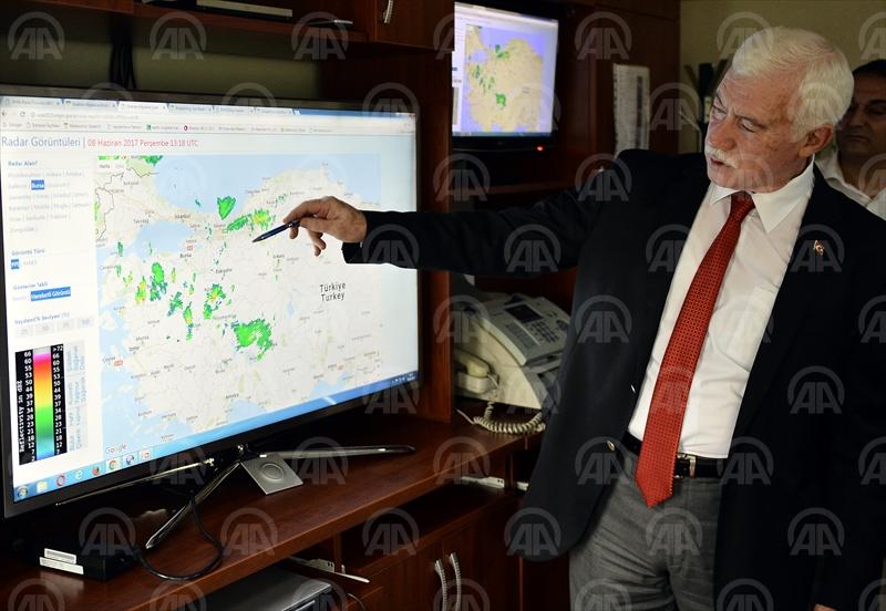 Meteorolojiden 50 bin kişilik hayati uyarı ağı
