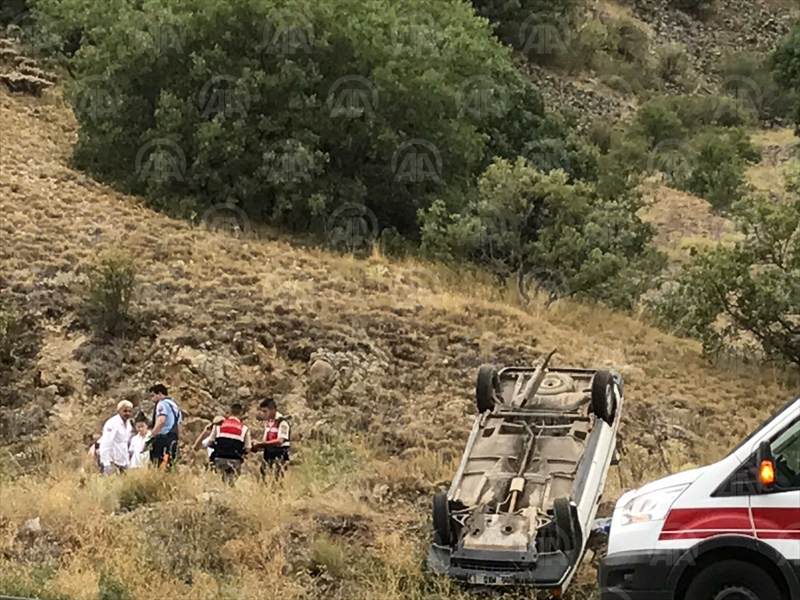 Kızılcahamam'da trafik kazası: 6 yaralı