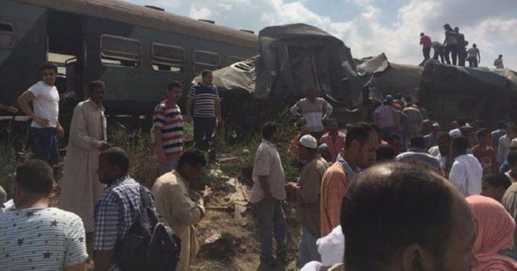 Mısırda feci tren kazası: 21 ölü